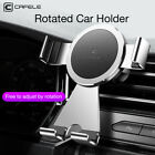 360° Round Air Vent Dashboard  Gravity Mount Holder Stand Cradle for Cell Phone