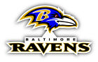 Baltimore Ravens NFL Football Logo Combo Sticker Decal - 9'', 12'' or 14'' $13.99 USD on eBay