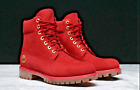 NEW MENS TIMBERLAND 6 INCH WATERPROOF PREMIUM BOOTS 10061 WHEAT RED