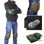 Sports Tactical Combat Protective Pad Set Gear Military Knee Elbow Protector US