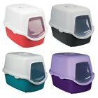 Trixie Vico Hooded Cat Litter Tray Easy Clean Hygienic with Kitten Door Flap NEW