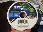 Ultra Fight HI-VIS Monofilament Fishing Line 100 YD Spools / 1 - 8 LB Test