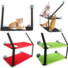 Pet Cat Window Hammock Soft Cat Kennels Cat Bed Cat Safe Hanging Shelf Seat New