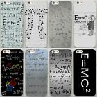 Physic Equations E-mc2 Science Hard Case For iPhone XS 8 7 6 5 Samsung S10 S9 A8