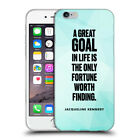 Soft Transparent TPU Case For Apple iPhone 65 goal Kennedy triangles light blue