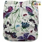 NEW Washable Diapers Couches Lavables Baby Diaper Cover Wrap Cartoon Print Nappy