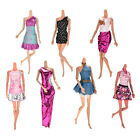 7Pcs Wedding Dresses Party Gown Clothes Outfits For s Girls Lovely PB