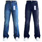 Mens Designer Flared Wide Leg Bootcut Pant Fit Waist And Sizes SNS Jeans Style