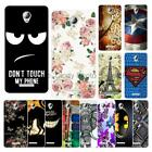 For Lenovo A5000 Soft TPU Case Cover Butterfly Rose Cartoon Animal Tower Deer