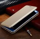 Luxury Apple iPhone SE to X - Hybrid 360° Shockproof Leather Flip Wallet Cover