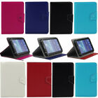 universal adjustable leather folio case cover