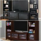 Home Entertainment Center TV stand 2 side bookcases towers media storage NO TAX