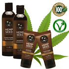 Earthly Body Hemp Seed Natural Hair Care Shampoo / Conditioner Vegan Color-Safe