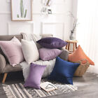 Velvet Cushion Cover Throw Pillow Case Sofa Car Home Decor Zip Up Modern Fashion