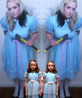 Grady Twin Lisa and Louise Girl Summer Party Dress Cosplay Costume The Shining