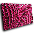 AB254 Red Pink Pattern Cool Modern Abstract Canvas Wall Art Large Picture Prints