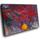 AB755 Red Yellow Purple Modern Abstract Canvas Wall Art Large Picture Prints