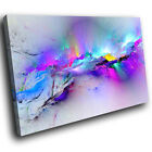 AB968 pink Colourful blue Modern Abstract Canvas Wall Art Large Picture Prints
