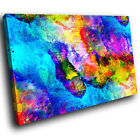 AB1578 Colourful Cool Funky Modern Abstract Canvas Wall Art Large Picture Prints