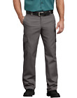 Mens DICKIES Flex WP595 Regular Fit Straight Leg Work Uniform Cargo Pocket Pants
