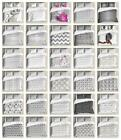Grey Ambesonne Duvet Cover Set Twin Queen King Sizes with Pillow Shams Bedding