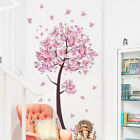 kids room girls - Bedroom Child Baby Girls Pink Fairy Butterfly Trees Wall Sticker Home Room Decor