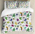 Emoji Duvet Cover Set Twin Queen King Sizes with Pillow Shams Bedding