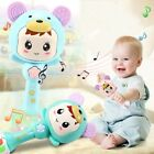 Newborn Early Learning Toy Infant Kids Baby Cartoon Musical Rattle Teether Stick