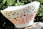 Mid-Century 1960s Porcelaiin/China Gold & Red Stars Soup/Other Bowl W/Gold Trim