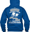 Cozy Iraq Veteran This Is For You - It Cannot Be Gildan Hoodie Sweatshirt