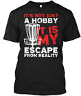 Disc Golf Its Not Just A Hobby - It's It Is My Escape Hanes Tagless Tee T-Shirt
