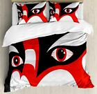 Kabuki Mask Duvet Cover Set Twin Queen King Sizes with Pillow Shams