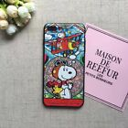 Cute Snoopy Charlie Colorful Lovely Gel Bumper Soft Case For iPhone X 8 8 Plus 7