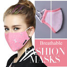 Washable Cotton Face Mouth Mask Anti Dust Pollution Haze Filter Respirator Thin