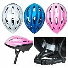 Trespass Cranky Kids Bike Helmet in Pink Blue White Boys Girls Cycling Scooter