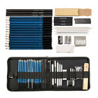 40 Set Drawing Sketching Charcoal Pencil Art Painting Draw Sketch Artists Kit