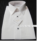 Neil Allyn Men Tuxedo Shirt Classic Collar XL 34/35 Formal Dress Waiter Server