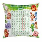 Word Search Puzzle Throw Pillow Cases Cushion Covers Home Decor 8 Sizes