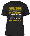 logistics managers - Supply Chain Logistics Manager - We Do Precision Guess Premium Jersey V-Neck