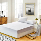 Mattress Cover Protector Waterproof Terry Towel Extra Deep Fitted Sheet Bed Pad image