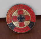 BOY SCOUTS OF AMERICA 1960'S PHILMONT SCOUT RANCH NECKERCHIEF SLIDE NEW MEXIO