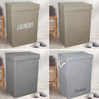 LARGE LAUNDRY BASKET DIRTY / WASHING CLOTHES STORAGE HOUSEHOLD BASKET