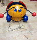 fisher prce lady bug pull toy