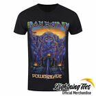 Official Iron Maiden Ink Powerslaves Rock Band T-Shirt