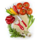 Ceramic Paring Knife and Peeler Set Ultra Sharp Lightweight for Veggie Fruit