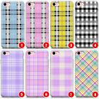 Plaid Slim Flexible Phone Case for iPhone | Tartan Checked Checkered Patter
