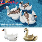 Giant Swan Pool Float And Lounger Inflatable Swimming Pool Giant Floaties Toy