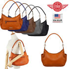 Women Leather Handbag Shoulder Hobo Purse Messenger Crossbody Tote Bag YT21 image