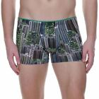 Bruno Banani Mens Underwear Urban Jungle Short Boxer Brief Skyscraper Print