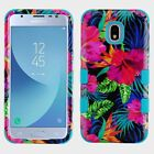 For Samsung GALAXY J3 2018 image HYBRID Armor Rubber Dual Layer TPU Case Cover
